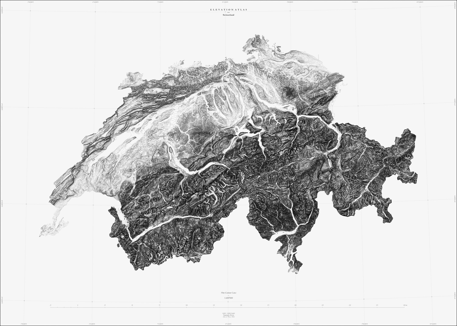 Muriz Djurdjevic and Thomas Paturet, ATLAS OF PLACES. Switzerland Collection