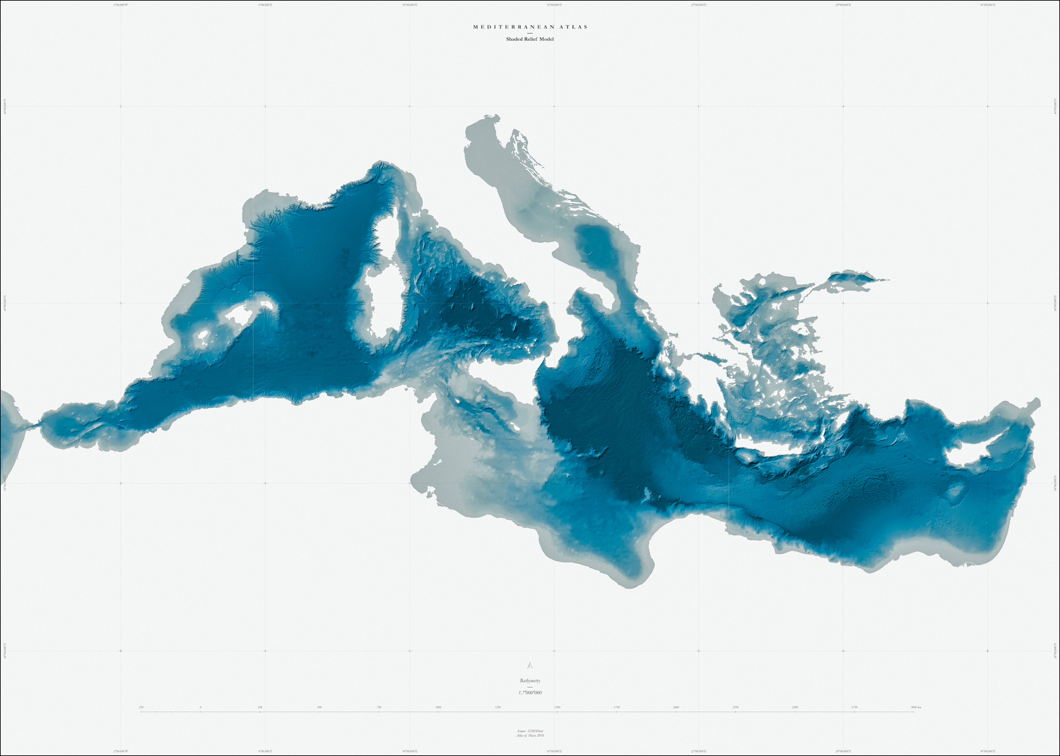 Muriz Djurdjevic and Thomas Paturet, ATLAS OF PLACES. Mediterranean Sea Collection